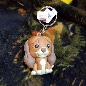Fox and the Hound Keychain